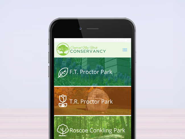 CNY Conservancy Mobile App screenshot